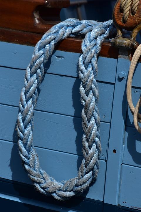 Rope, Boat, Sailboat, Sea, Node, Port, Strings