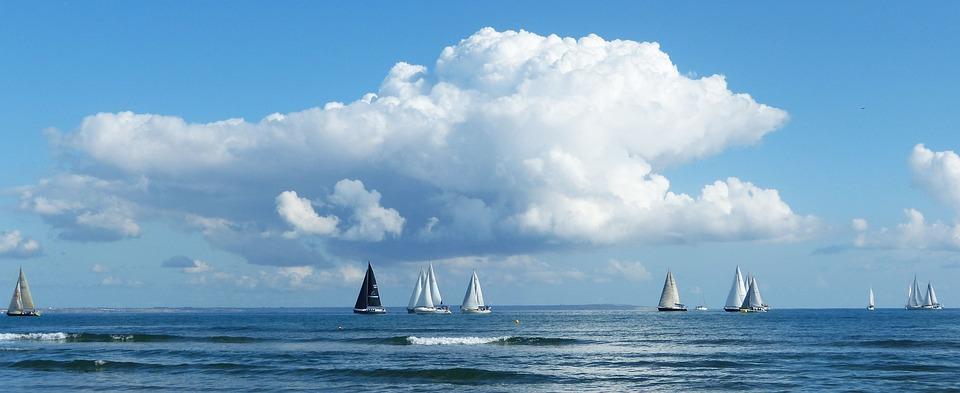 Sea, Sail, Sailing Boats, Ship, Sailing Boat, Boat