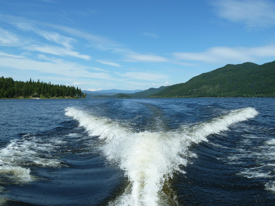 Canim Lake, British Columbia, Canada, Boat Tour, Water