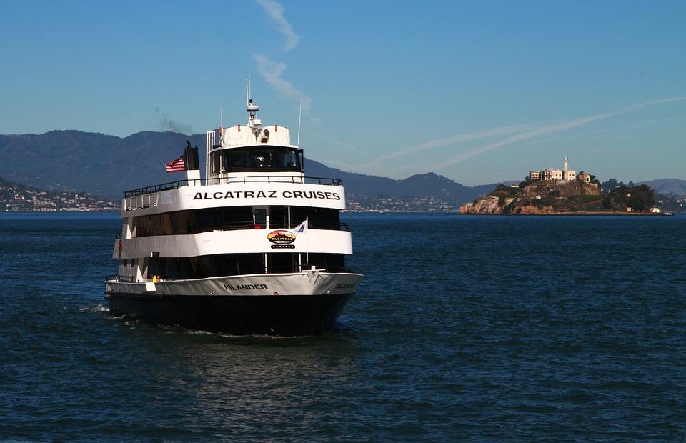 Free Photo Boat Tourism Alcatraz Cruise San Francisco Ship Max Pixel - Cruise ships from san francisco