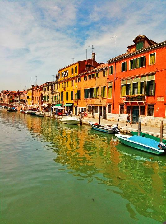 Venice, Boat, Travel, Italy, Architecture, City, Canal
