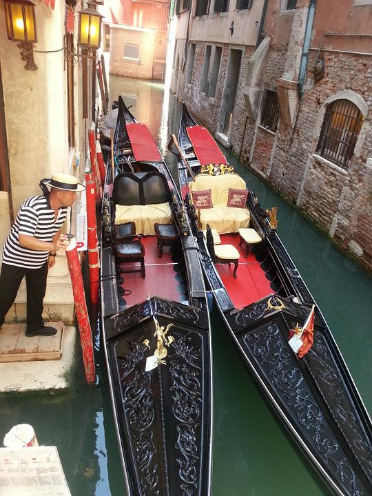 Holiday, Boat, Gondola, Gift, Romance, Venice
