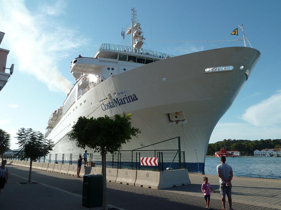 Ship, Liner, Vessel, Cruise, Boat, Sea, Travel, Tourism