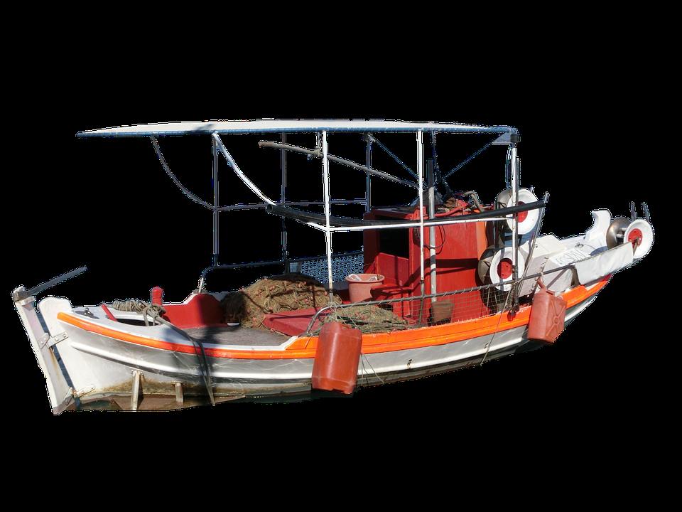 Isolated, Ship, Boat, Water, Sea, Lake, Anchor