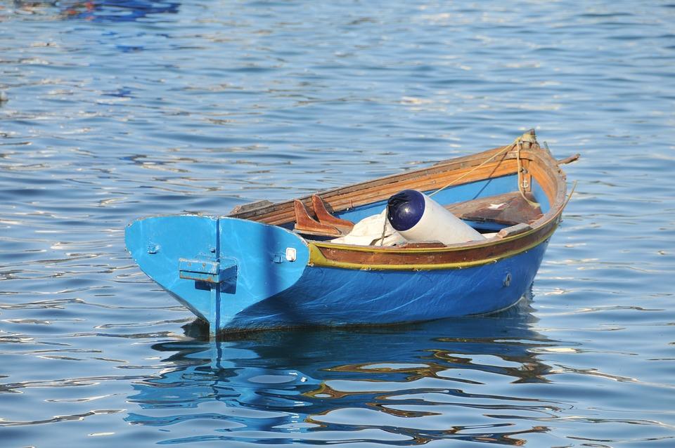 Boat, Malta, Fishermen, Water, Port