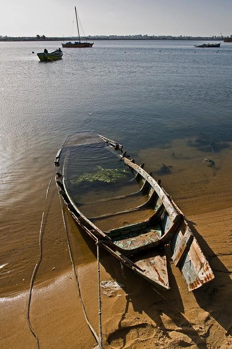 Boat, Sinq, Water