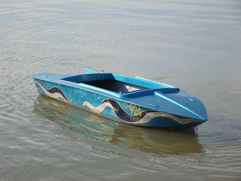 Boat, Blue, Water, River Danube, Transportation, Vessel