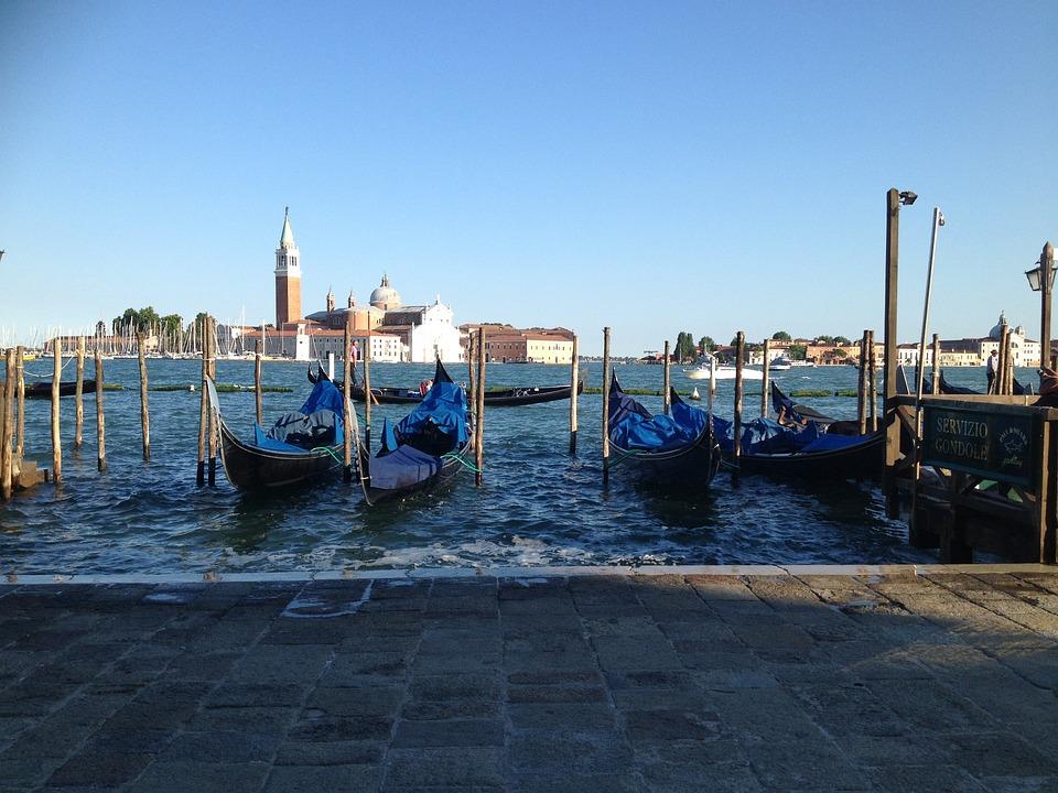 Venice, Gondola, Europe, Water, Tourism, Boat, Venetian