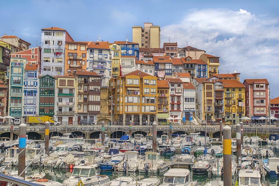 Landscape, Port, Houses, Architecture, Colors, Boats