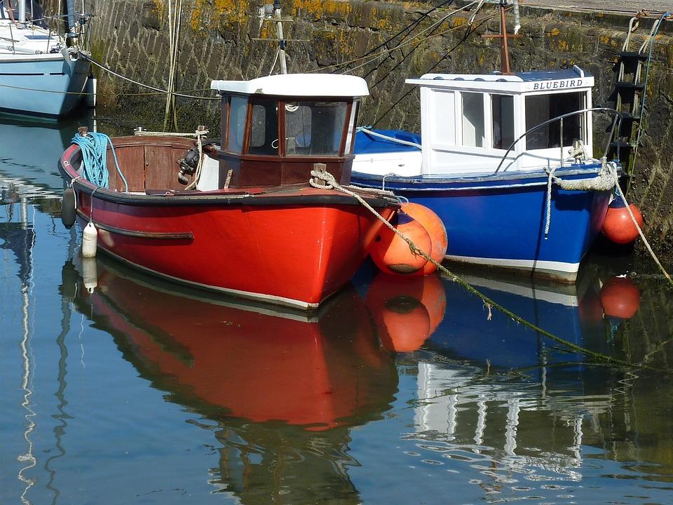 Boats, Berth, Maritime, Jetty, Ship, Sea, Fischer