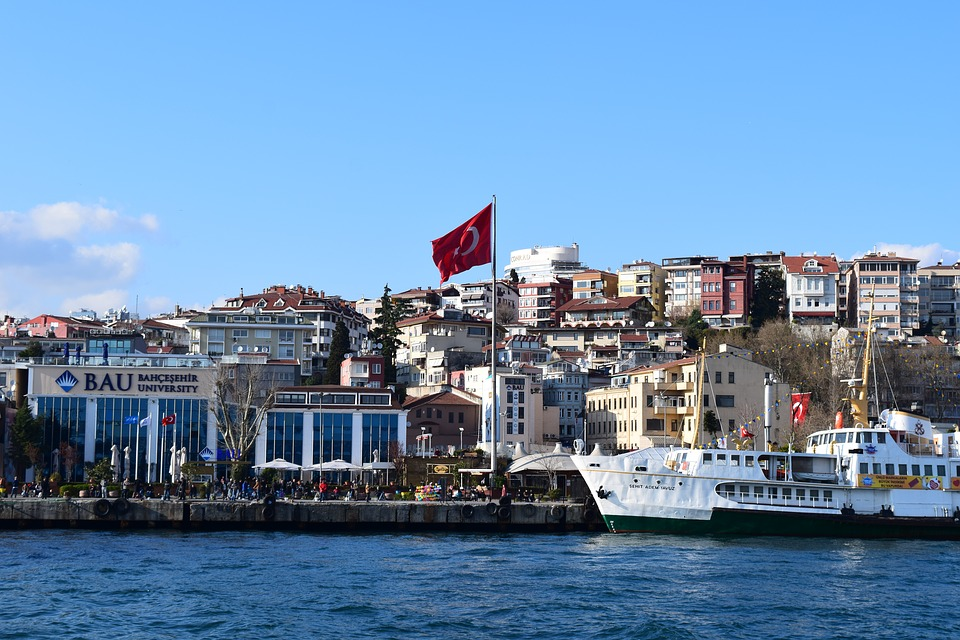 Sea, Istanbul, City, Bosphorus, Istambul, Boats, Ferry