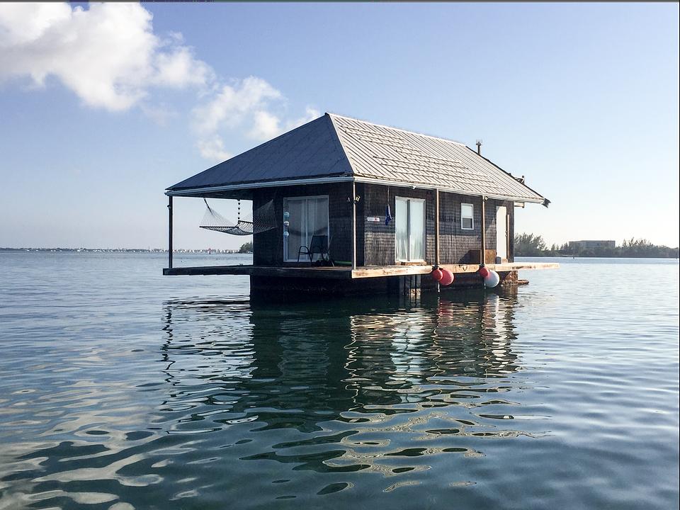 Key West, Houseboat, Ocean, Lifestyle, Floating, Boats