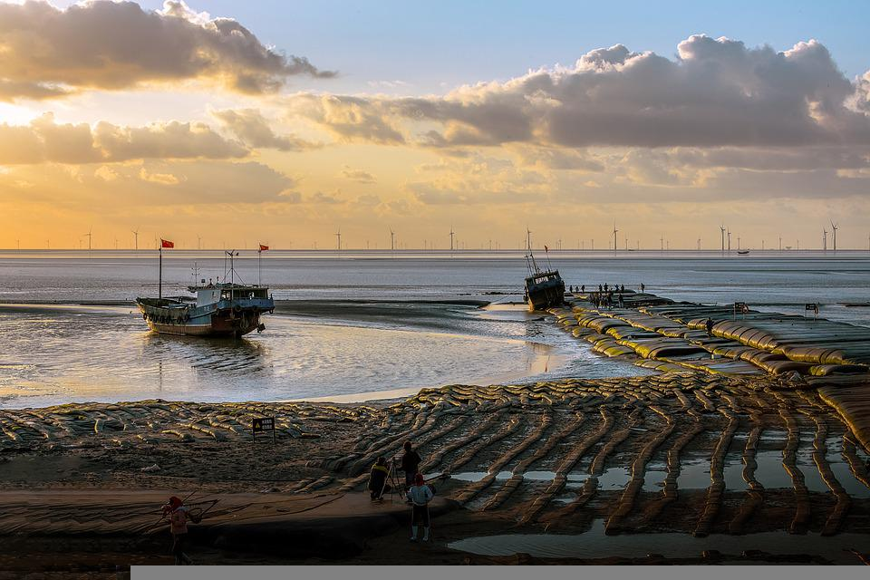 Sea, Boats, Port, Harbor, Dock, Coast, Shore, Seashore