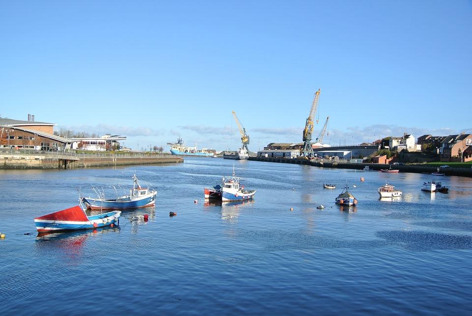 Boats, Sunderland, Harbour