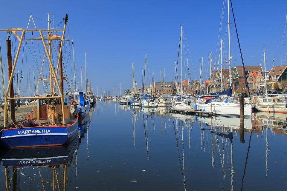 Port, Sailing Boat, Boats, Water, Mirroring, Sail Masts