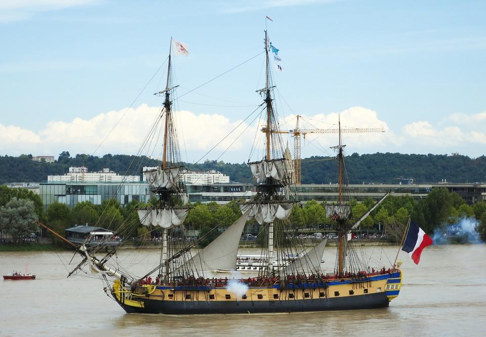 Wharf, Maritime, Navigation, Boats, Frigate, Sailboat