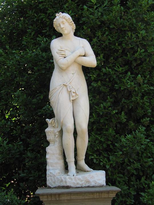 Florence, Boboligarten, Statue