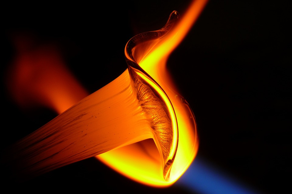 Glass Blower, Bodenmais, Glass Art, Fire, Flame, Art