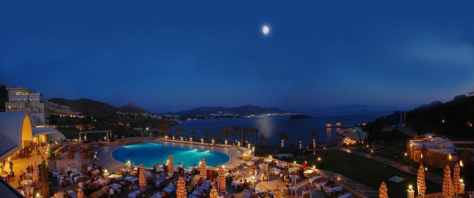 Free Photo Bodrum Ocean Luxury Swimming Pool Marine Hotel Max Pixel