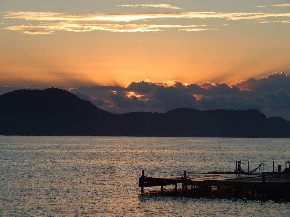 Body Of Water, Sunset, Dawn, Lake, Landscape