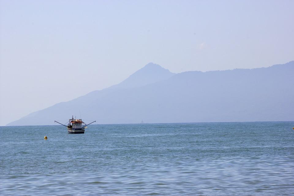 Body Of Water, Mar, Vessel, Transport, Trip, Ocean, Sky