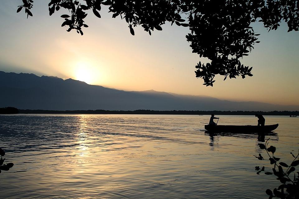 Body Of Water, Sunset, Dawn, Nature, Sun, Summer