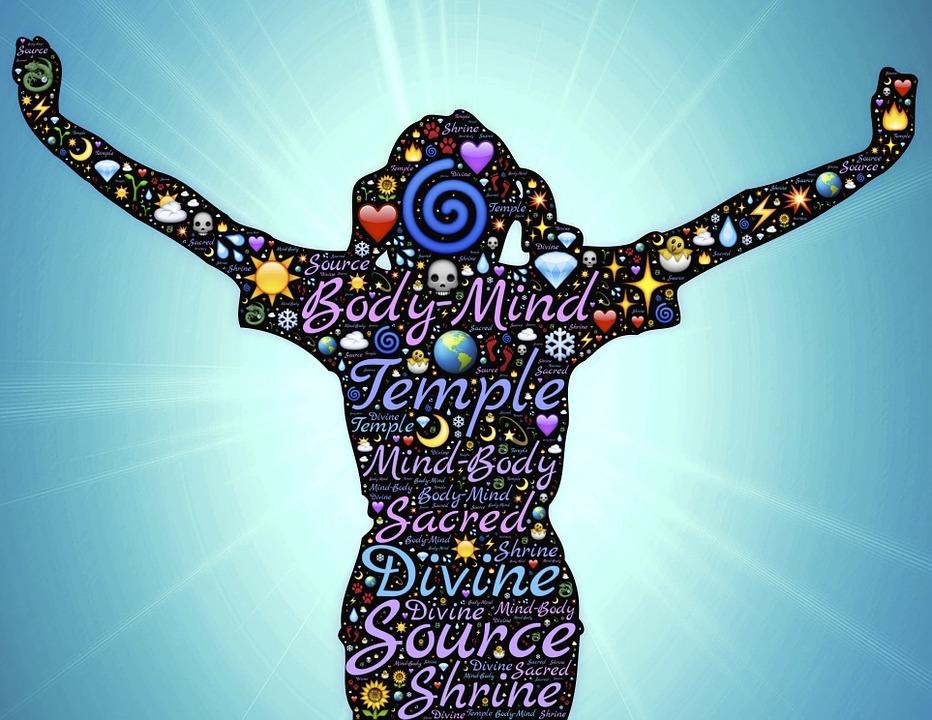 Woman, Body-mind, Mind-body, Temple, Divine, Source
