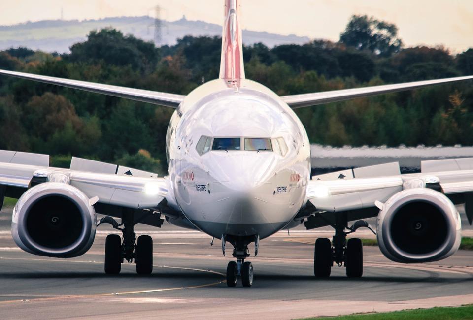 Boeing 737, Airplane, Aeroplane, Manchester Airport
