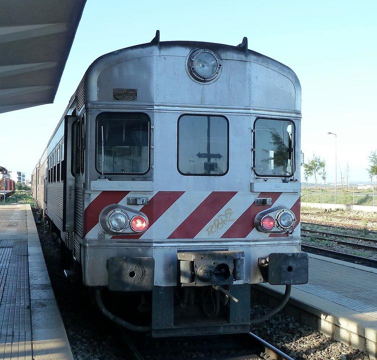 Transport, Station, Train, Boemel, Old, Algarve