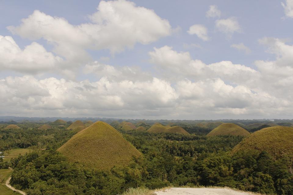 Bohol, Chocolate Hill, Sky