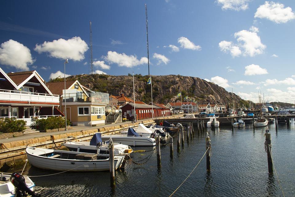 Sweden, West Coast, Sea, Summer, Nature, Bohuslän