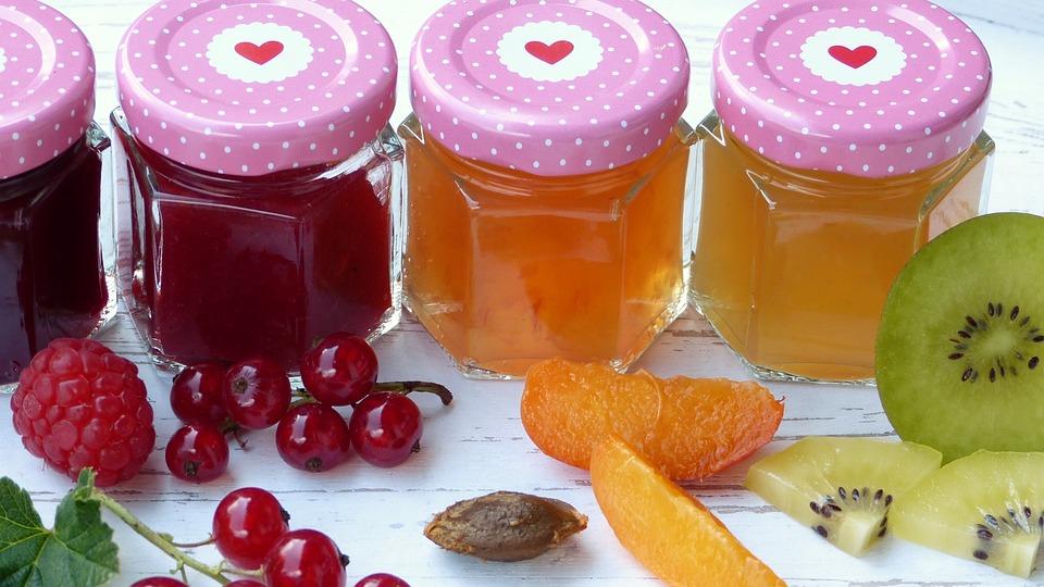 Jam, Fruit, Fruits, Sugar, Boil Down, Berries, Glasses