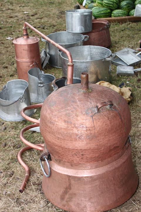 Alcohol, Boiler, Brandy, Copper, Distilling, Handmade