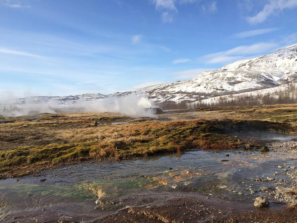 Iceland, Geyser, Ice, Fire, Boiling