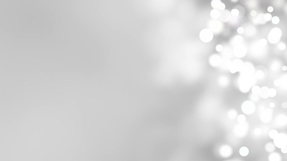 White, Black, Background, Light, Bokeh