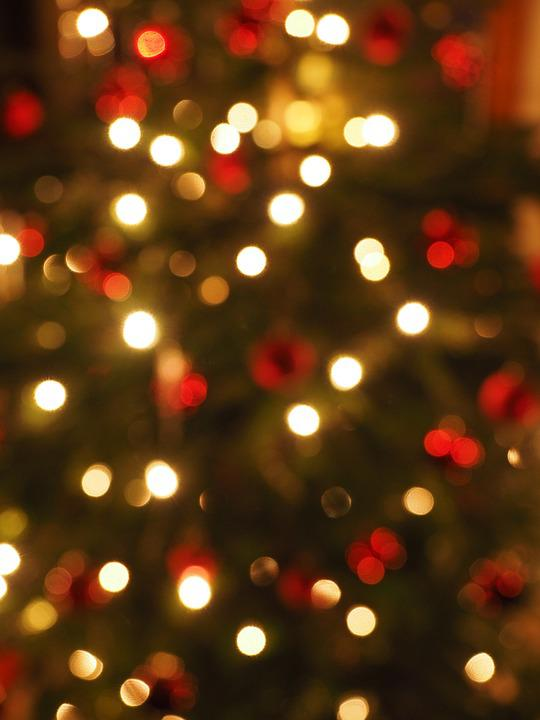 Free photo Bokeh Out Of Focus Points Of Light Christmas Lights ...