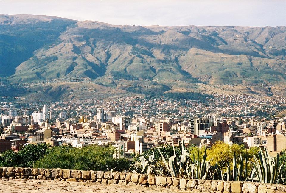 Bolivia, Cochabamba, Andes Mountains, Landscape