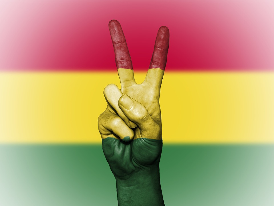 free photo bolivia peace colors flag banner background max pixel