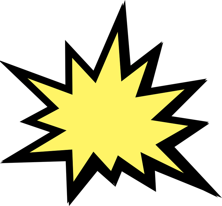 Explosion, Battle, Star, Fire, War, Bomb, Military