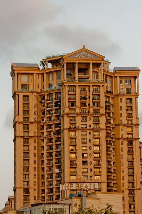 Concrete, Building, Mumbai, Bombay, Structure, Cement