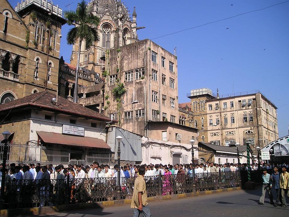 India, Mumbai, Bombay, Crowd, Human, Many
