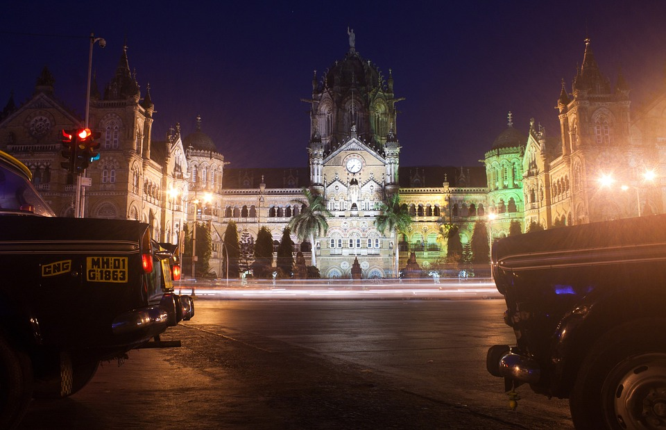 Cst, Victoria Station, Mumbai, Bombay, Train Station