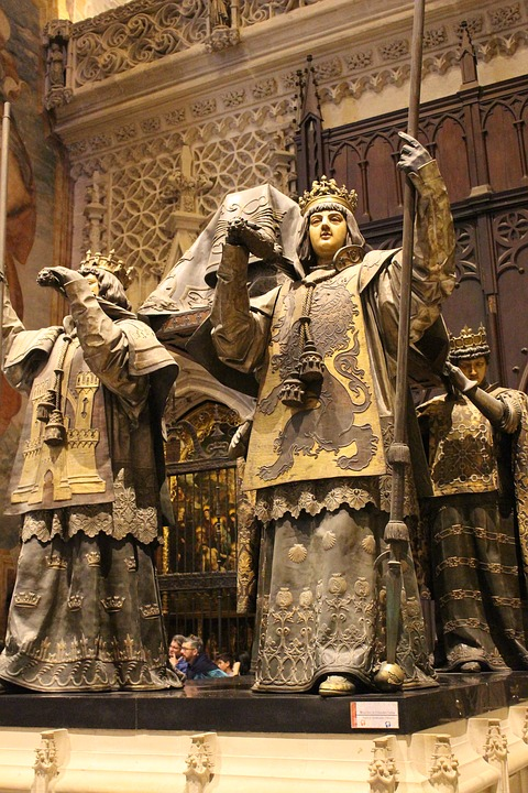 Bones Of Christopher Columbus, Seville, Church