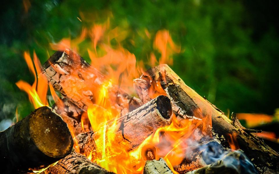 Camping, Bonfire, Ural, Nature, Adventure, Camp