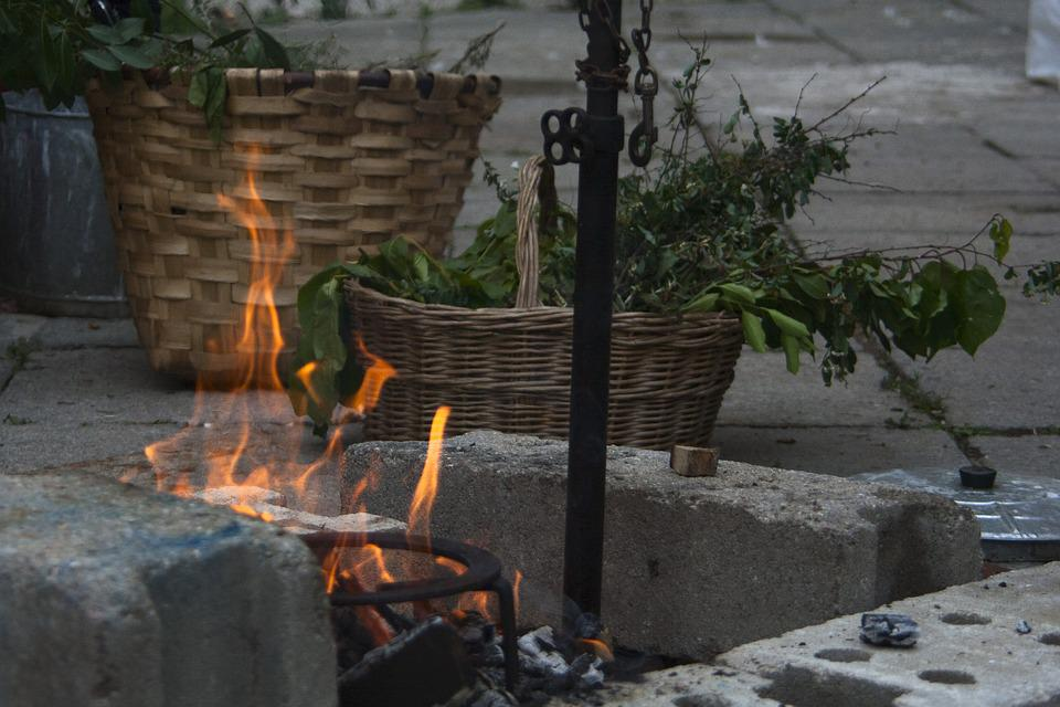 Bonfire, Fire, Campfire, Flame, Heat, Embers