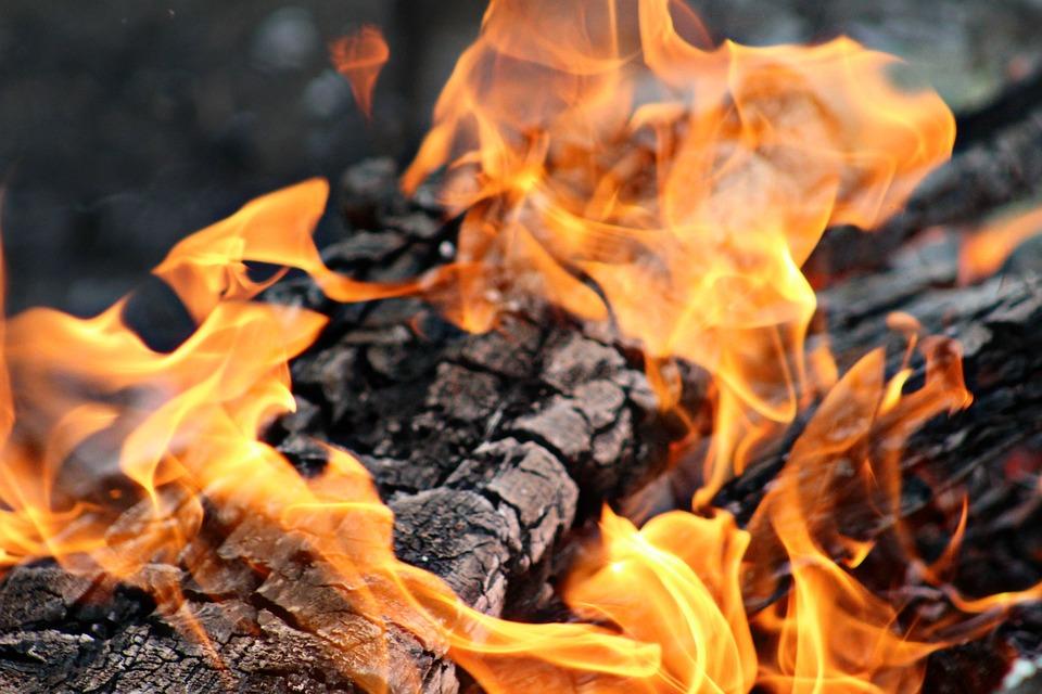 Fire, Burning, Burn, Heat, Hot, Bonfire, Campfire