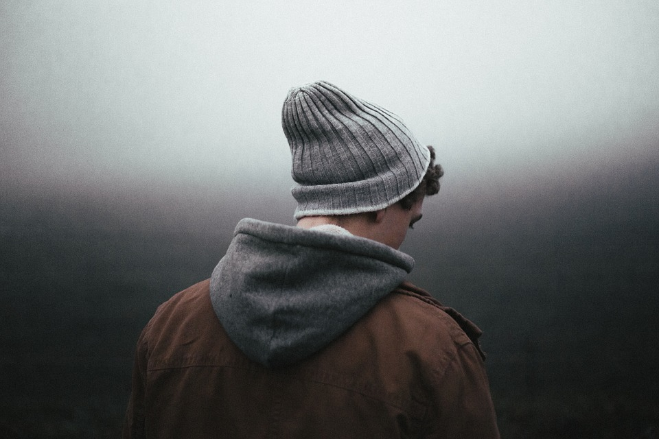 free photo bonnet boy beanie male man back jacket back view max pixel