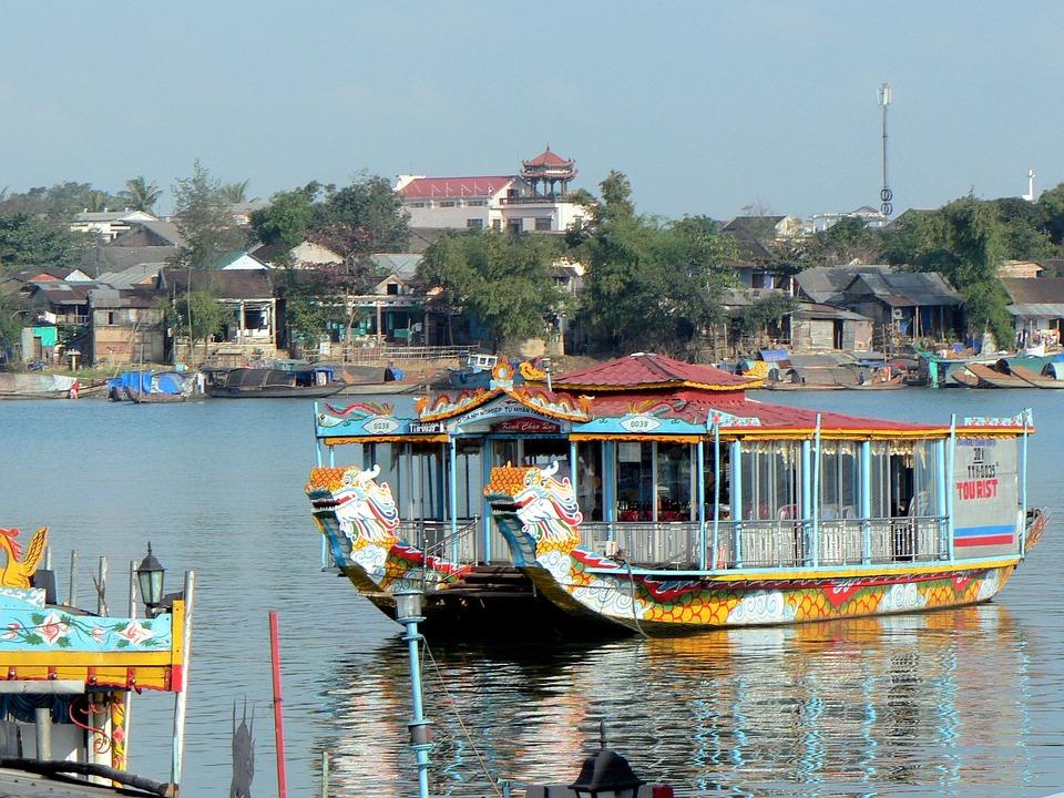 Booed, Boat, Pearl River, Promenade
