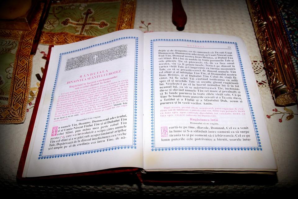 Book, Bible, Church