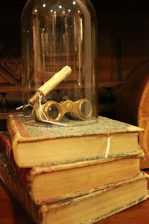 Books, Decoration, Book, Glasses